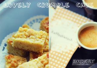 super saftiger Streuselkuchen vom Blech - Lovely Crumble Cake
