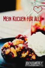 Streuselkuchen im Glas - Mein Kuchen für Alle