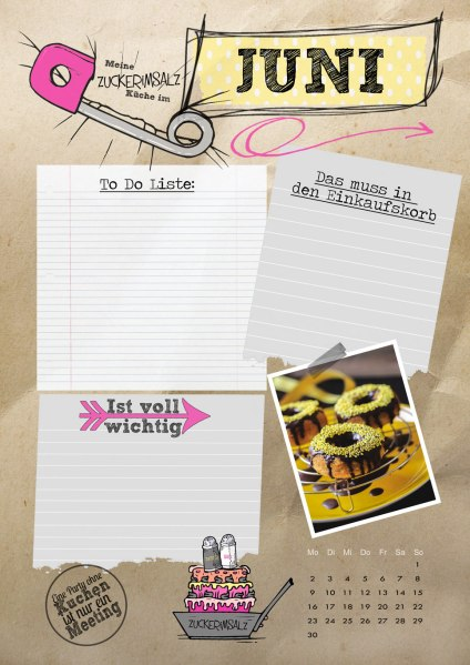 web-Monats-To-Do-Blatt-juni