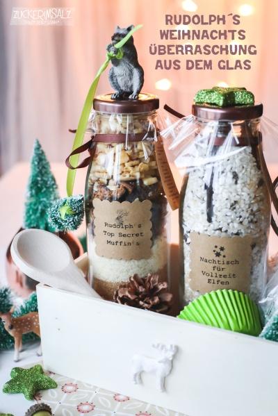 Rudolph S Weihnachts Uberraschung Aus Dem Glas Zuckerimsalz
