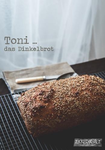 Toni, Dinkelbrot, ohne kneten, no knead bread, quark,