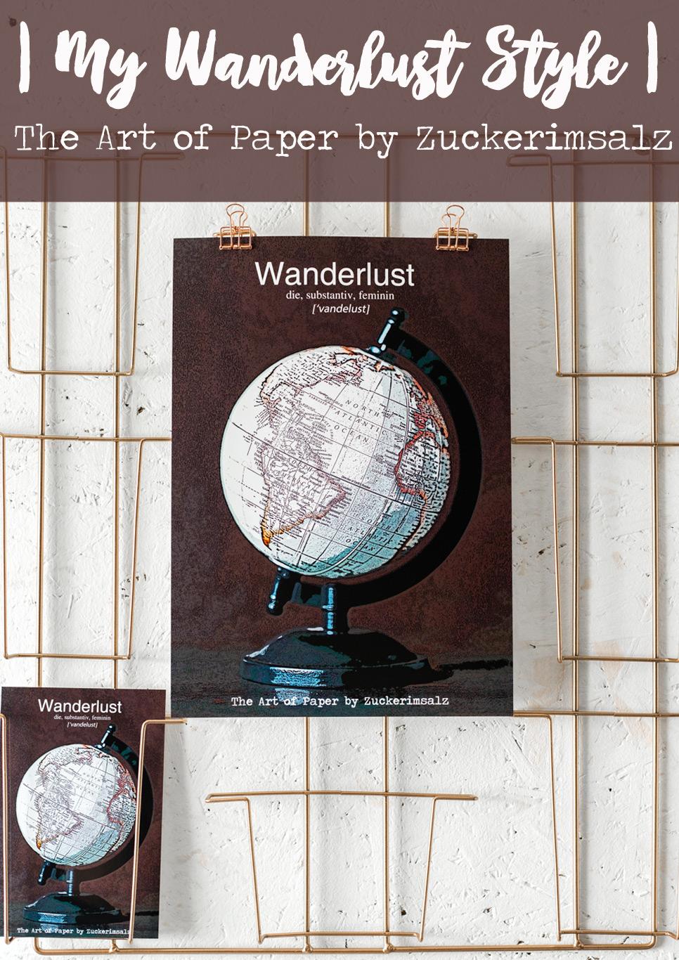 Das Poster – Der Foodplaner … My Wanderlust Style … das Freebie