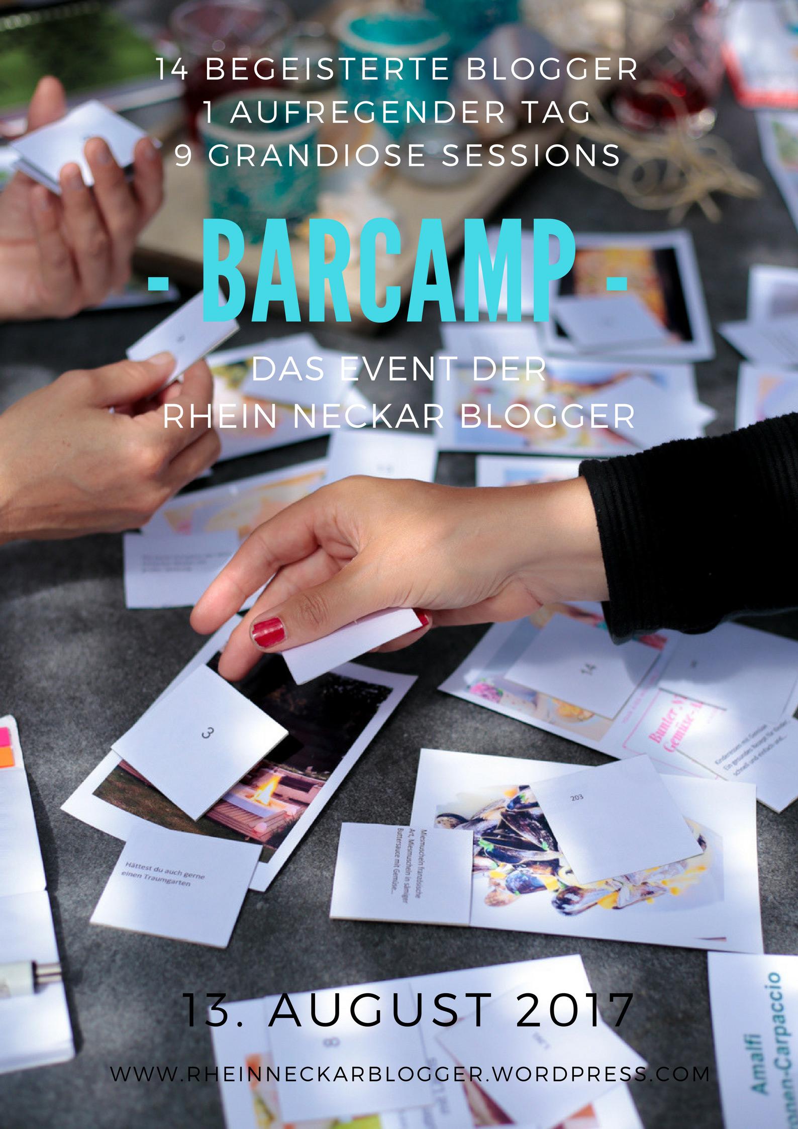 Ein Barcamp … was nix mit Trinken oder Zelten zu tun hat (naja fast nix)