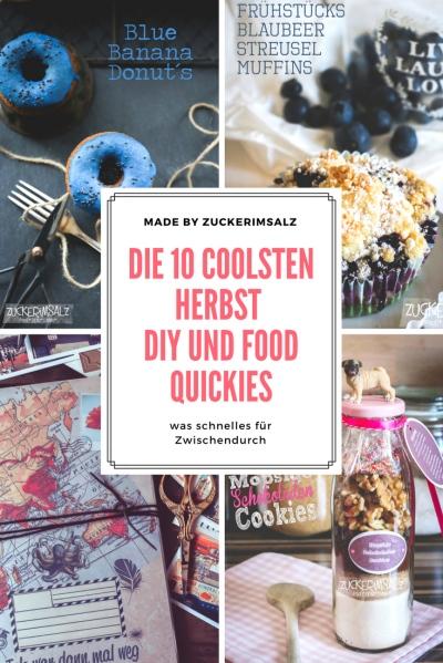 Die 10 Coolsten Herbst Diy Und Food Quickies Zuckerimsalz