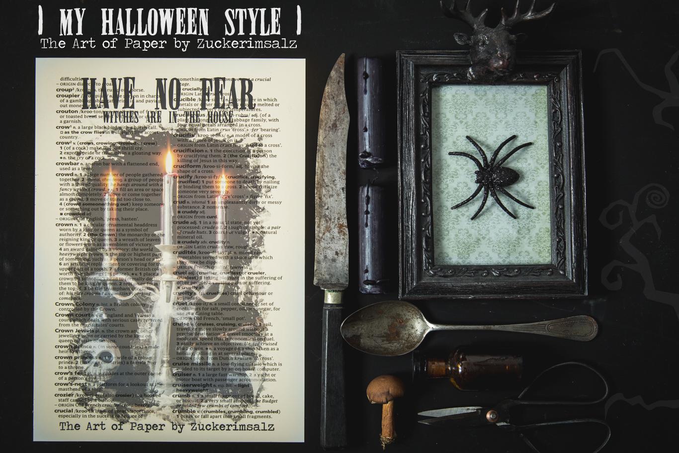 Das Poster – Der Foodplaner … My Halloween Style … das Freebie