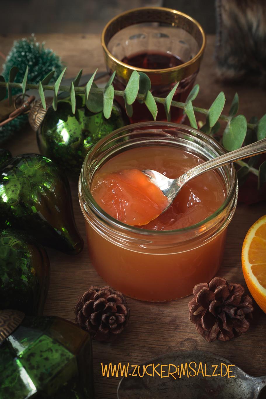 Samtpfötchen Orangenpunsch von Zuckerimsalz