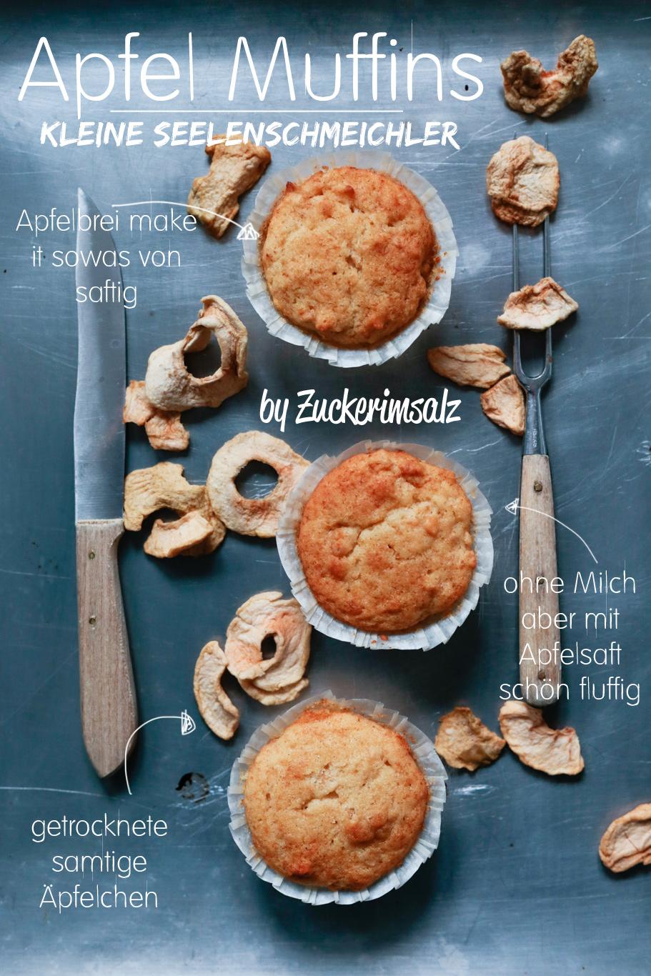 Apfel Muffins … kleine Seelenschmeichler