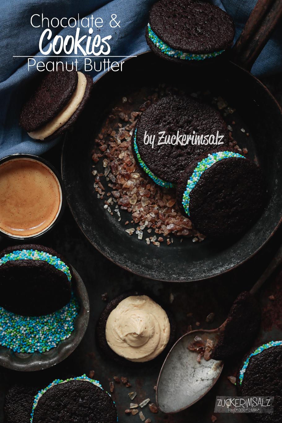 I love … Chocolate & Peanut Butter Cookies … und ein Buch