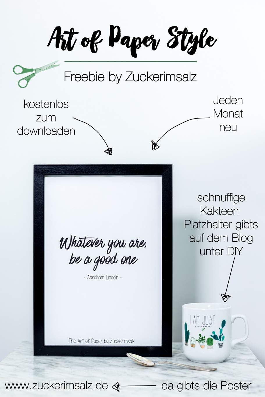 Lettering Print & Do It Planer … das Freebie #3
