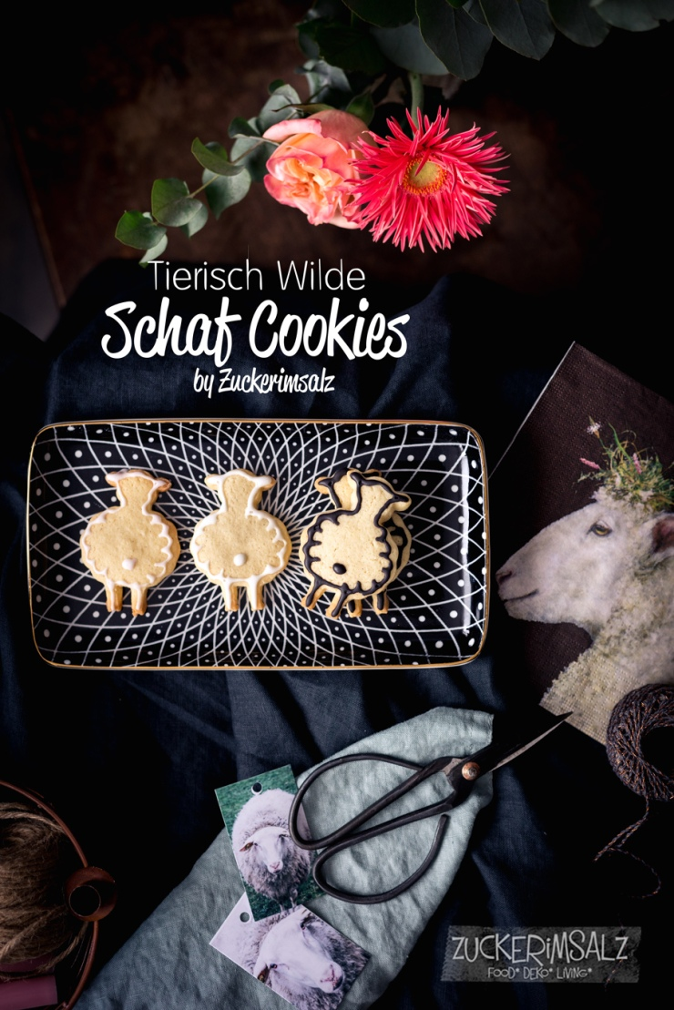 Schaf Cookies, Kekse, Ostern