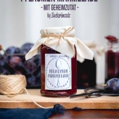 Pflaumen Marmelade mit Geheimzutat, Homemade, selbgemacht