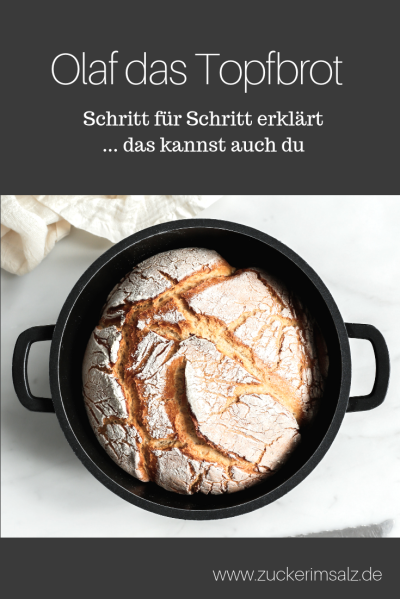 Olaf, Topfbrot, Mischbrot, Anfänger