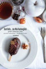 cakesicles, Eis am Stil, Kuchen am Stil, Cakepops, Schokolade, gold, braun, Zuckerstreusel, Buttercreme, Vanille,