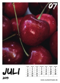 Food, Typografie, Typographie, Kalender, 2019, kostenlos, download, freebie, Zuckerimsalz