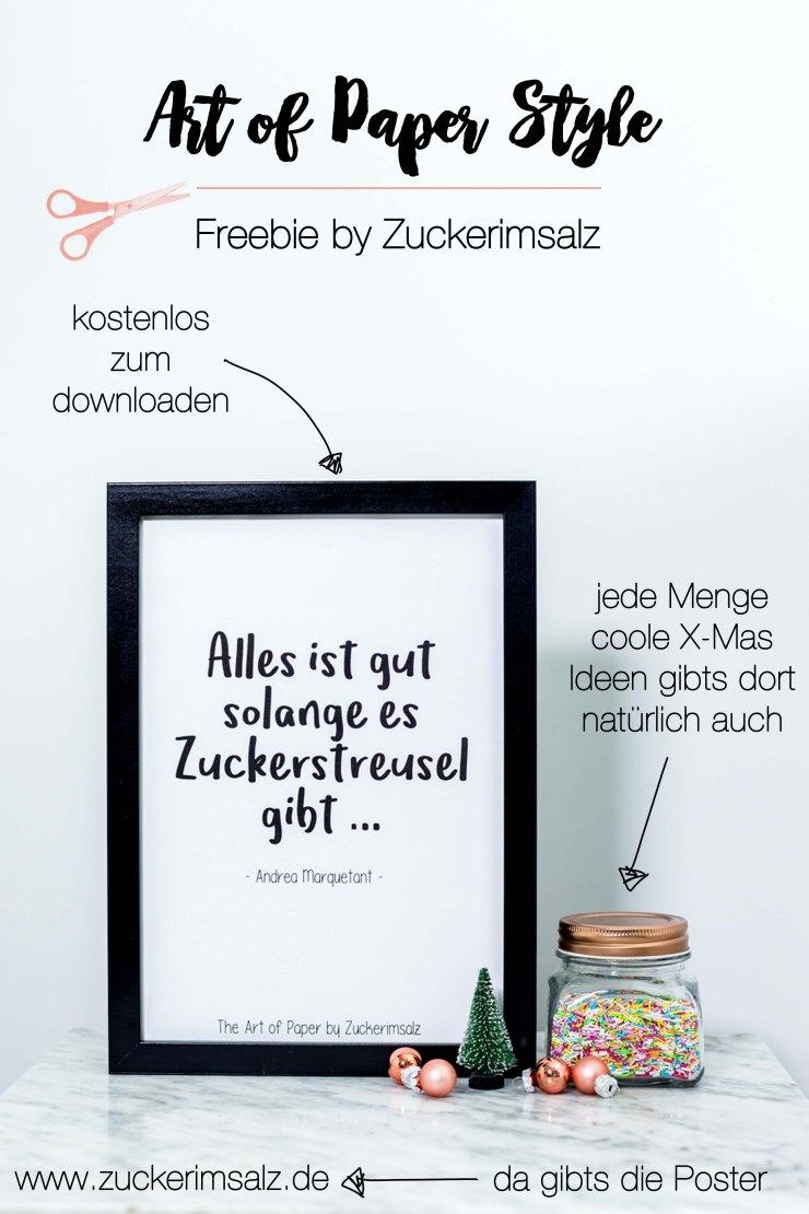 Lettering, Print, Post, Freebie, download, kostenlos, Zitat, Zuckerstreusel