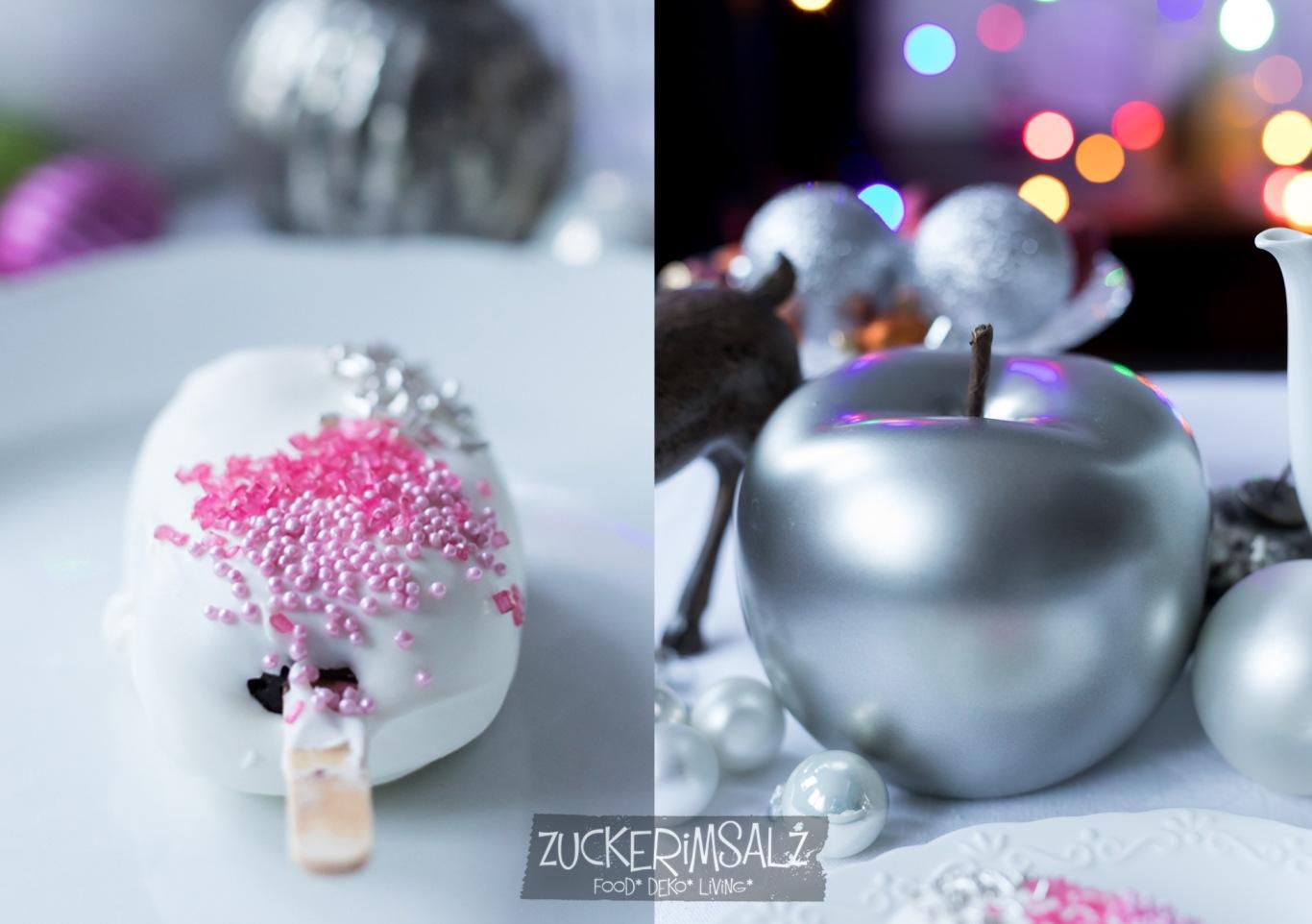 Cakesicle, Mini Kuchen, ohne backen, Cakepops, am Stil
