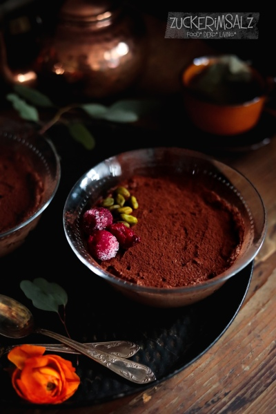 Dessert Für Zwei Mousse Au Chocolat Einfach Schnell Und Ohne Ei