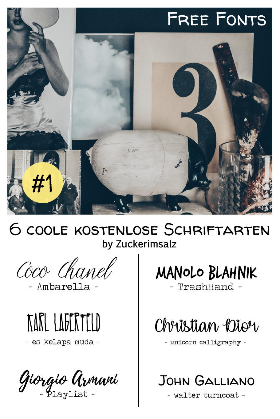 Freebie | Die coolsten kostenlosen Schriftarten … # 1