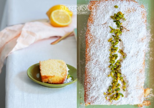 Zitronenkuchen, Rezept, Für Zwei, Personen, Kuchen, zitronig, Mini, weich, einfach, mit Öl,