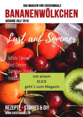 e-mag, Zeitschrift, Magazin, kostenlos, Lust auf Sommer, Rezepte, DIY, Ideen, Moodboard, White Dinner, Red Dinner, Party, Zuckerimsalz