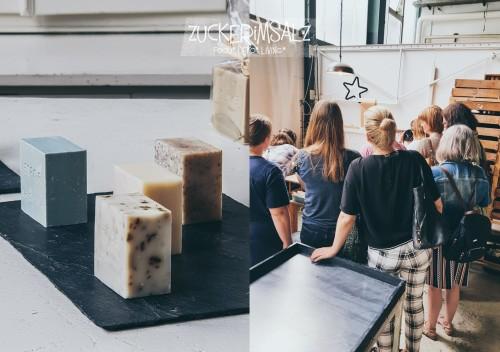 Brötchen, Rezept, für Zwei, Mini, Laugen, Konfekt, backen, Blogger, Tour, Heidelberg, Seife, Manufaktur, Savon Vivre