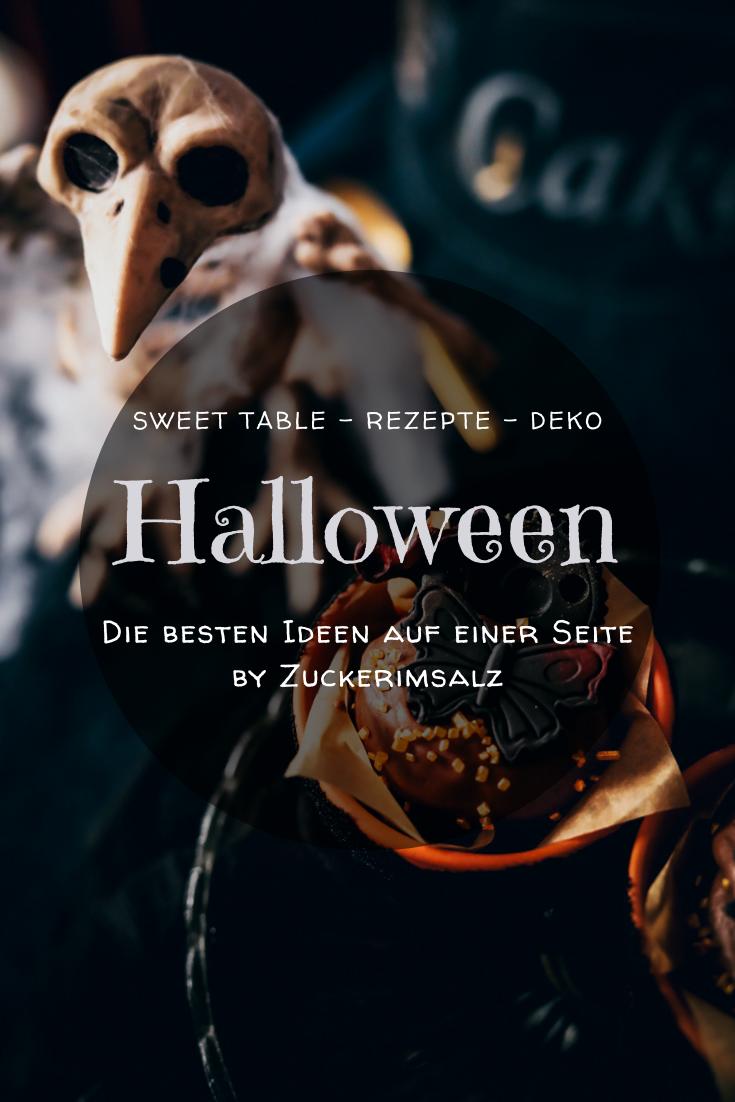 Halloween, Sweet Table, Rezepte, Deko, Ideen, die besten, Zuckerimsalz