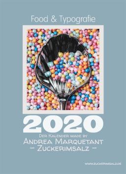 0-Deckblatt-Kalender Food-Typografie-Kalender-2020-Zuckerimsalz-kostenlos (Groß)