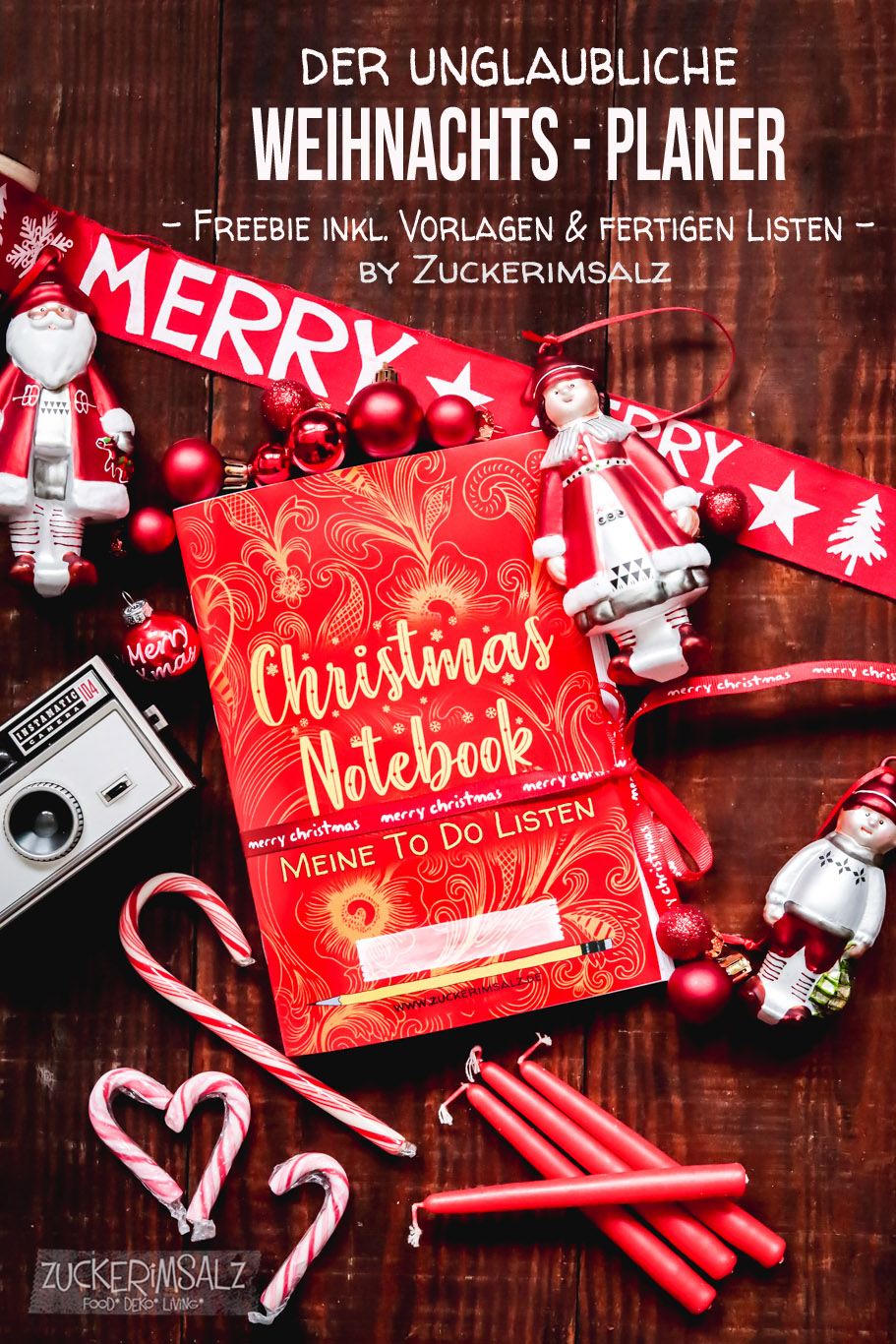 Freebie DIY | Der unglaubliche Weihnachts Planer … inkl. Vorlagen & fertigen Listen