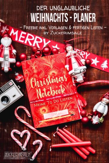 Weihnachten, X-Mas, To Do Liste, Freebie, download, kostenlos, Notebook, Planer, fertige, Listen, zum ausfüllen, Anleitung, DIY