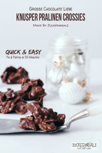 Knusper, Pralinen, Crossies, Quick, Easy, in 30 Minuten, Choco, Chocolate, Schoko, Schokolade