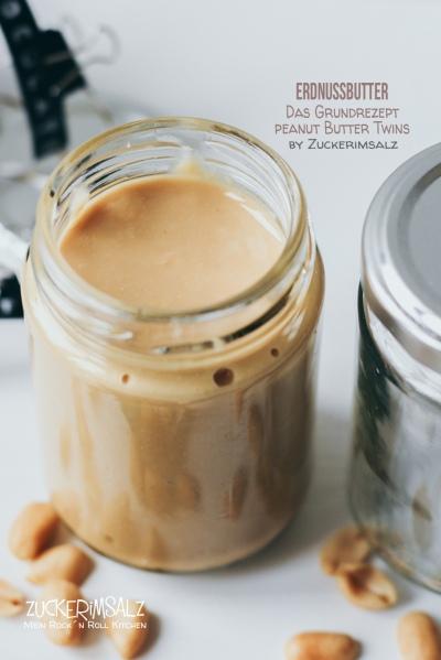 Peanut, Butter, Erdnussbutter, Erdnüsse, Aufstrich, Brotaufstrich, selber machen, selbstgemacht, Homemade, Schokolade, Twins