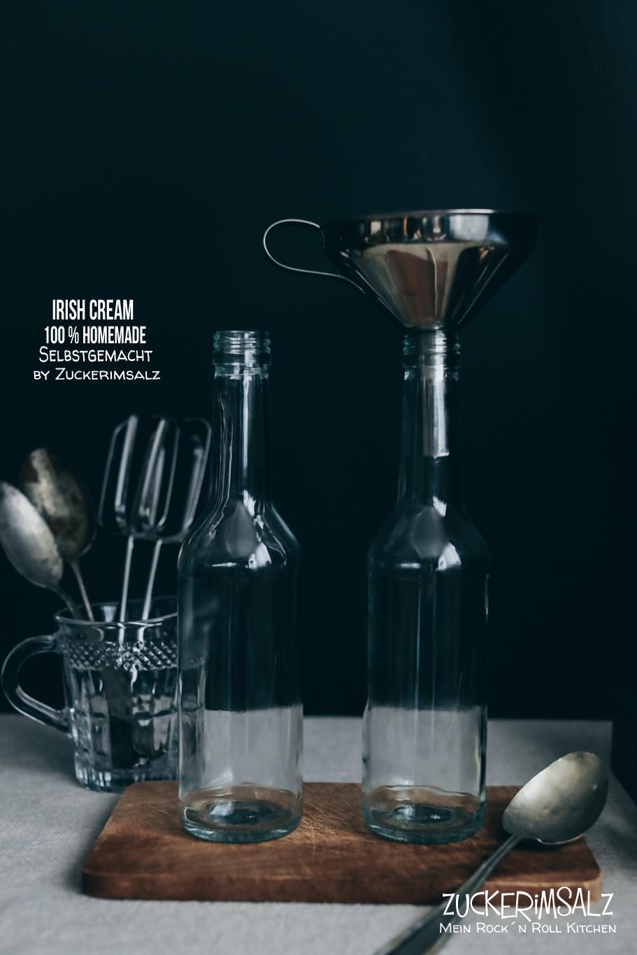 Sahne, Likör, Schoko, Kaffee, irish, cream, baileys, selbstgemacht, selber machen, Homemade, Rezept, Ostern, Geschenk, verschenken