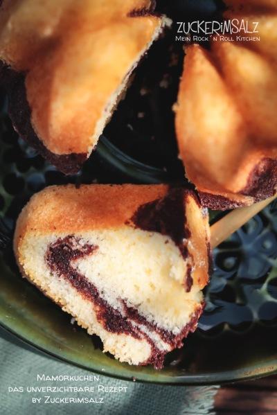 Mamorkuchen, unverzichtbar, einfach, Rezept, Geheimnis, Backtrennmittel, selbst gemacht, selber machen, saftig