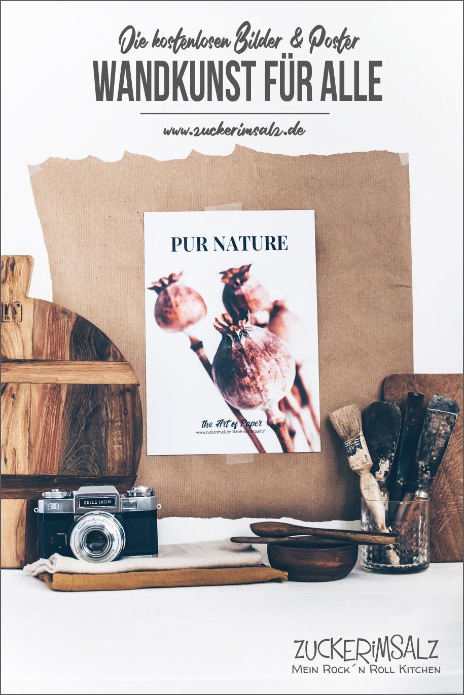 Wandkunst für Alle –  Pure Nature – das kostenlose Poster