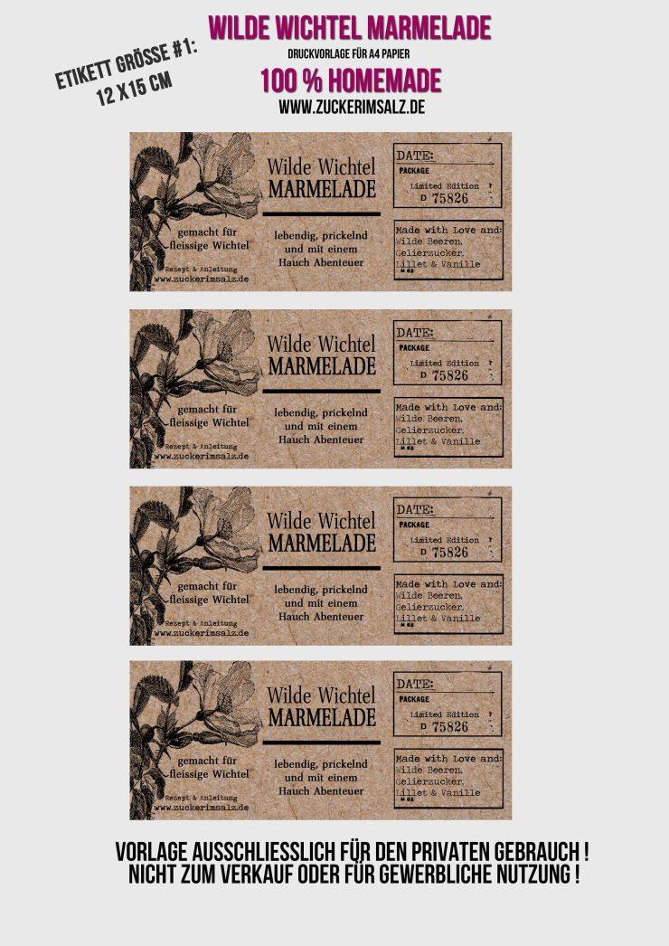 Etikett, freebie, download, kostenlos, Weihnachtsmarmelade, Weihnachten, Marmelade, fleissige Wichtel, Beerenmischung, Beeren, Lillet, Vanille, Zuckerimsalz, einmachen, Geschenk aus der Küche, Einmachgläser, dekorieren, Vintage, Winter, Weihnachten, Marmeladenglas