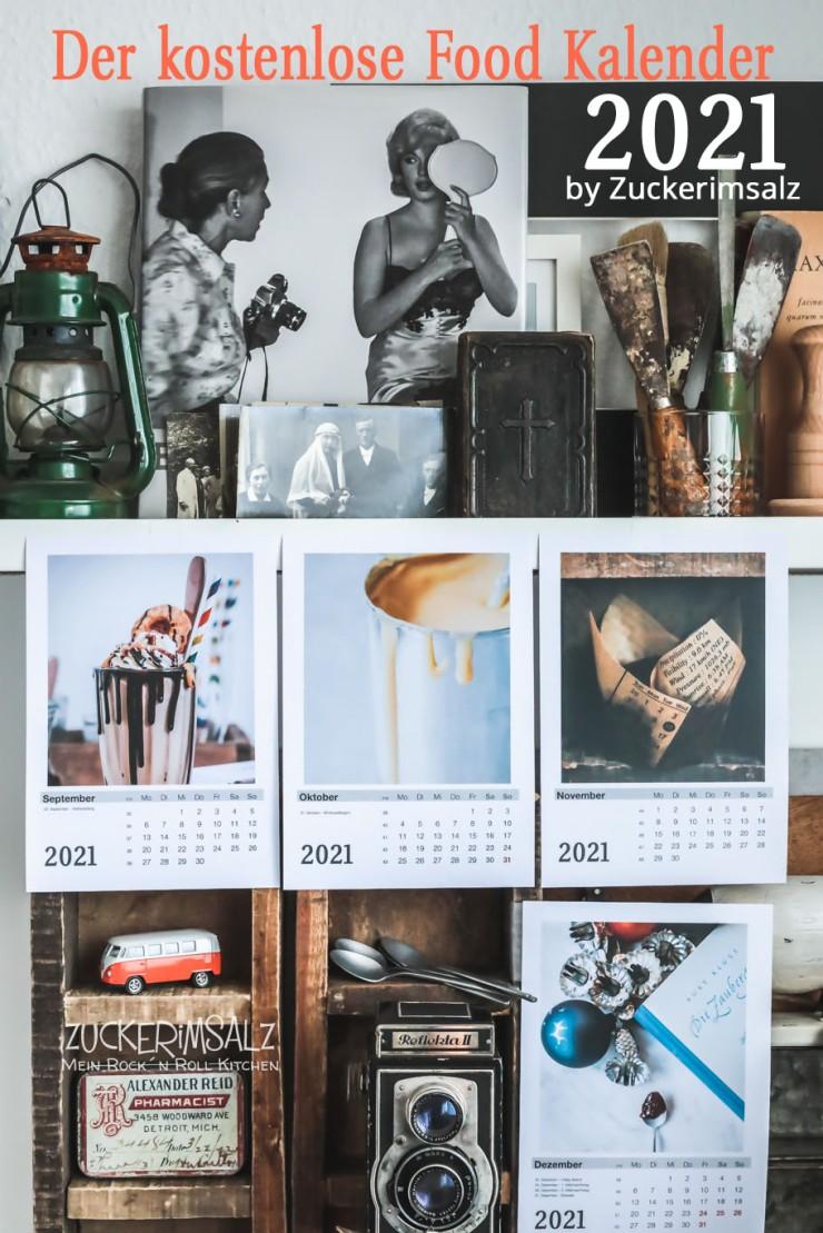 Food Kalender, Food Fotografie, Wandkalender, kostenlos, download, freebie, 2021, pdf, jpg