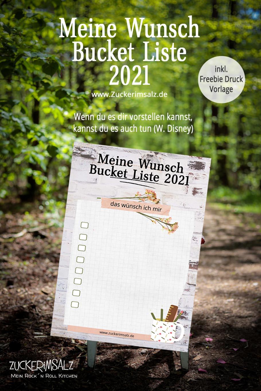 Meine Wunsch Bucket Liste 2021 & was ich mir dieses Jahr vorgenommen habe