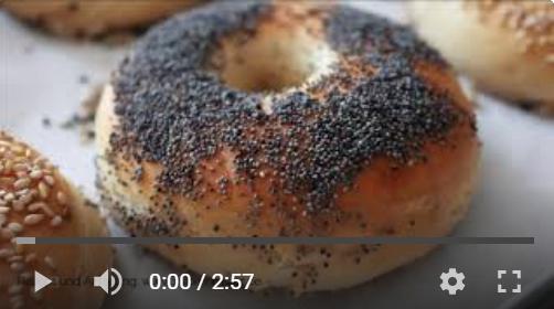 Bagels, Hausgemacht, selbstgemacht, homemade, lecker, einfach, unkompliziert, ohne Natron, Zuckerimsalz, backen, Brötchen, schnell, Video